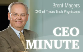 CEO Minute: Announcements Mark Changes in Health Care